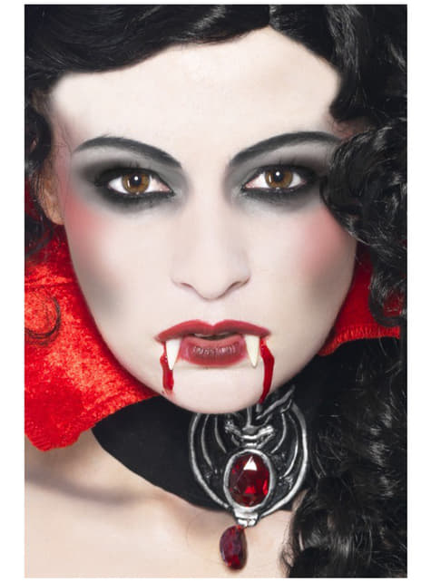Trucco Halloween Vampiro Uomo.Set Trucco Da Vampiro
