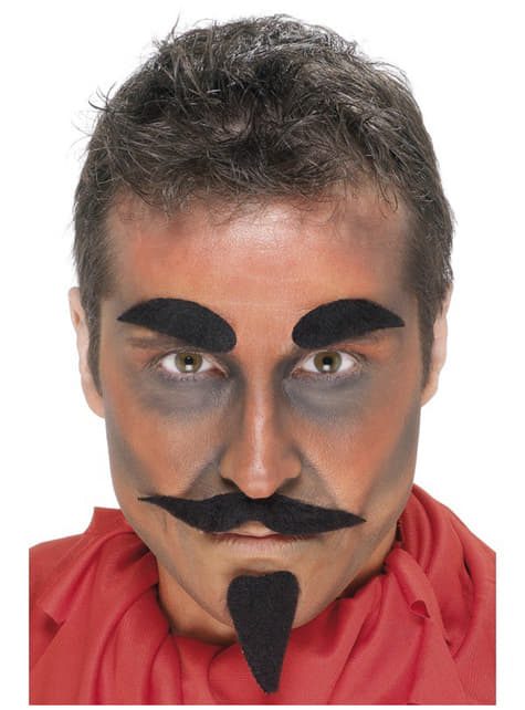 Demon Facial Hair Set