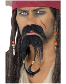 Set de pelo facial pirata