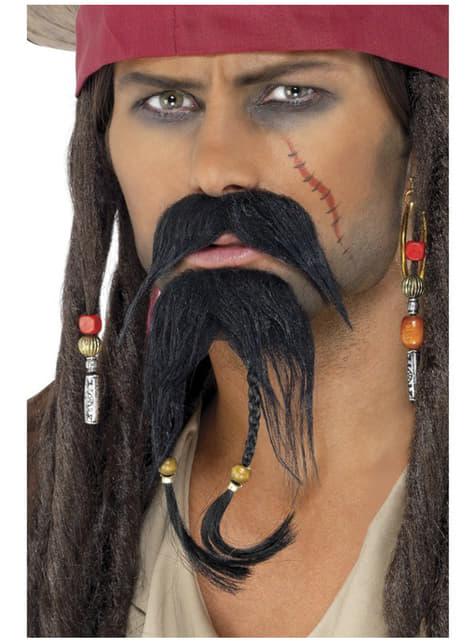 Пиратски комплект за коса на лицето
