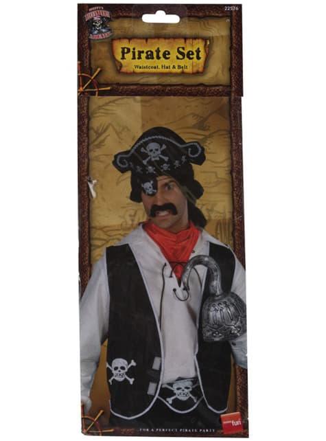 Kit de corsario para hombre - para tu disfraz