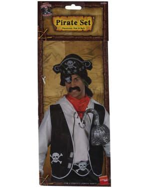 Kit de corsario para hombre