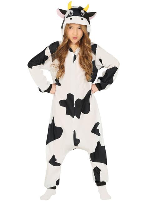 Disfraz de vaca onesie infantil