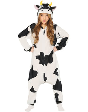 Costum de vacă onesie pentru copii