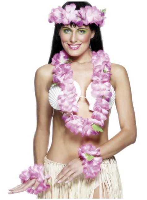 Kit d'hawaïen rose