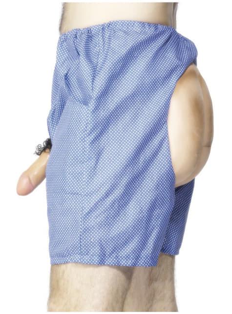 Pantalón con partes nobles aireadas para hombre