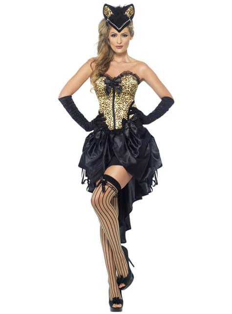 Kostým pro dospělé burleska - kočička