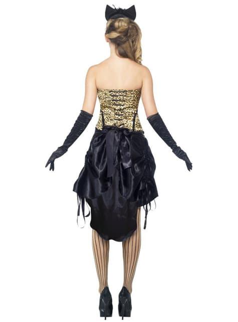 Disfraz de burlesque Kitty - mujer