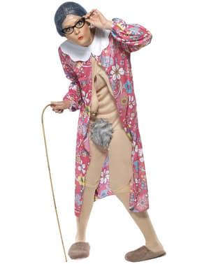 Nudist Bestemor Kostyme