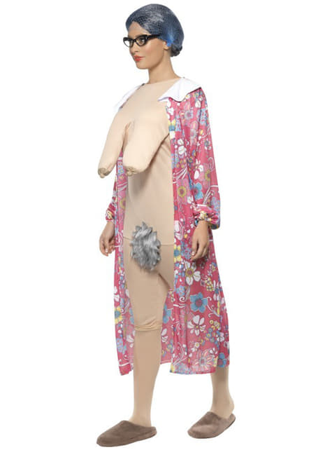 Kostým babička exhibicionistka
