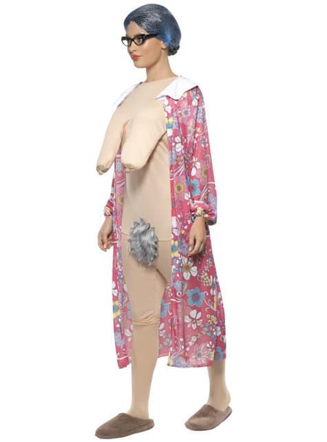 Costum bunică expoziționistă