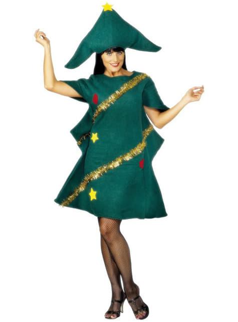 Fato de árvore de Natal para mulher