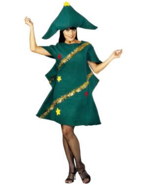 Dámský kostým vánoční stromek