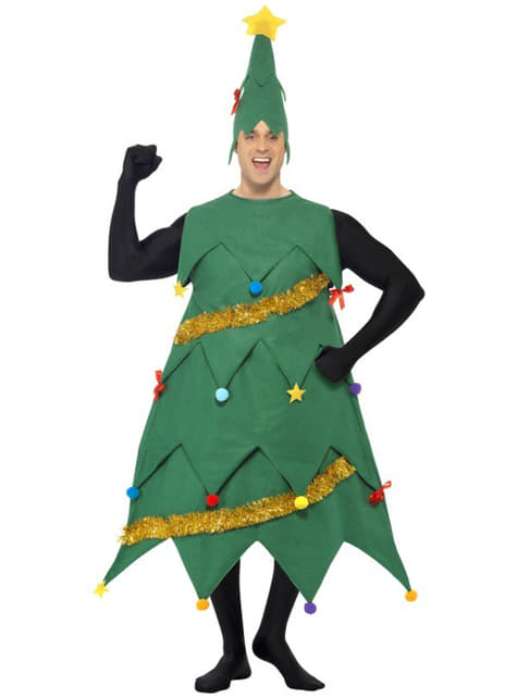 Deluxe Christmas Tree Adult Costume