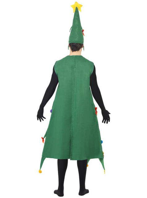 Disfraz de árbol navideño deluxe para hombre - hombre