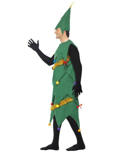 Disfraz de árbol navideño deluxe para hombre