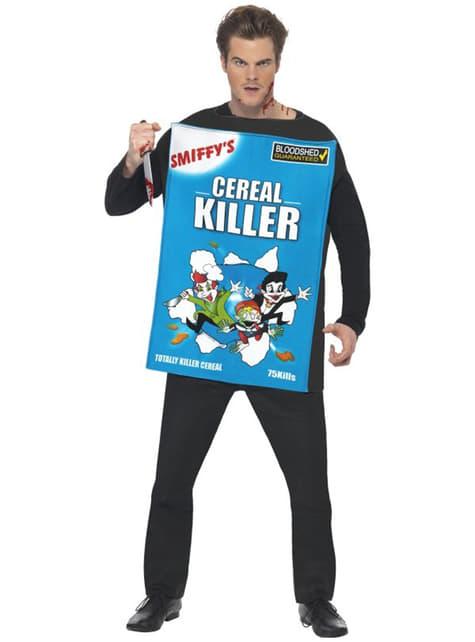Déguisement d'assassin de céréales