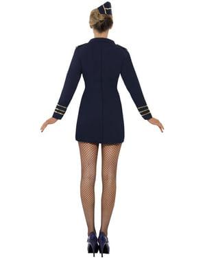 Stewardesse Kostume til Kvinder