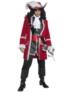 Deluxe piratkaptein kostyme