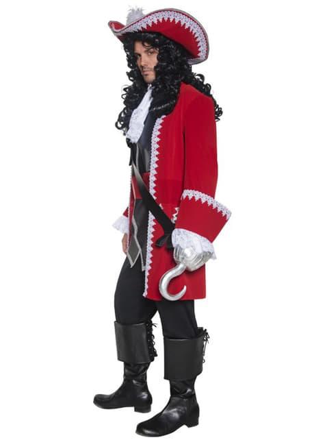 Disfraz de capitán pirata deluxe - original