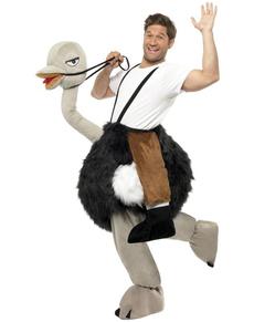 Disfraz de avestruz
