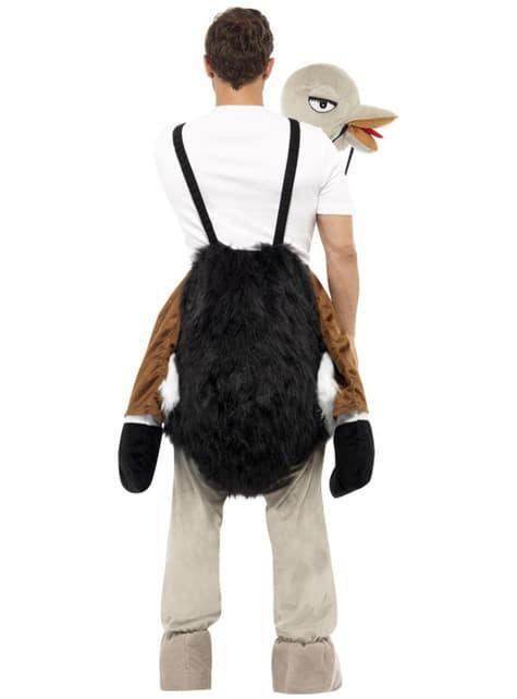 Disfraz de avestruz - adulto