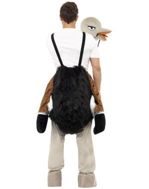 Костюм страуса для дорослих