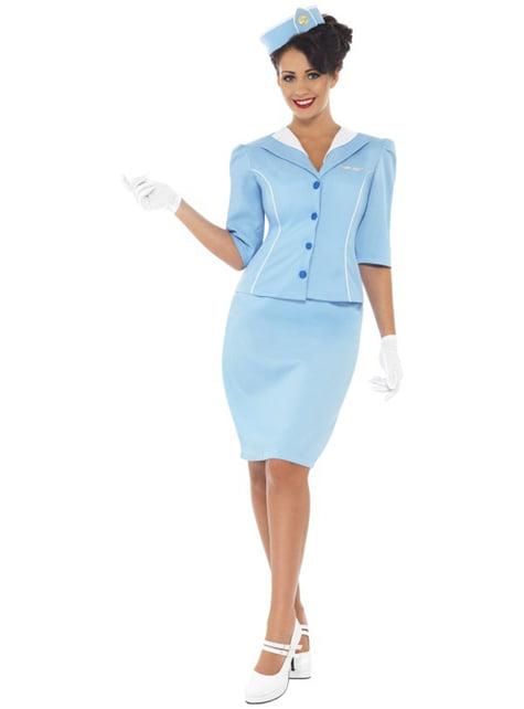 Stewardesse kostume elegant