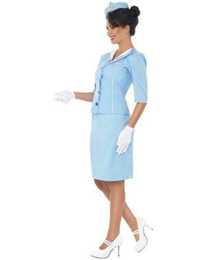 Елегантний костюм стюардеси для дорослих