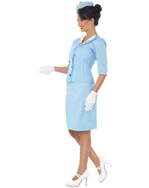 Strój elegancka stewardessa