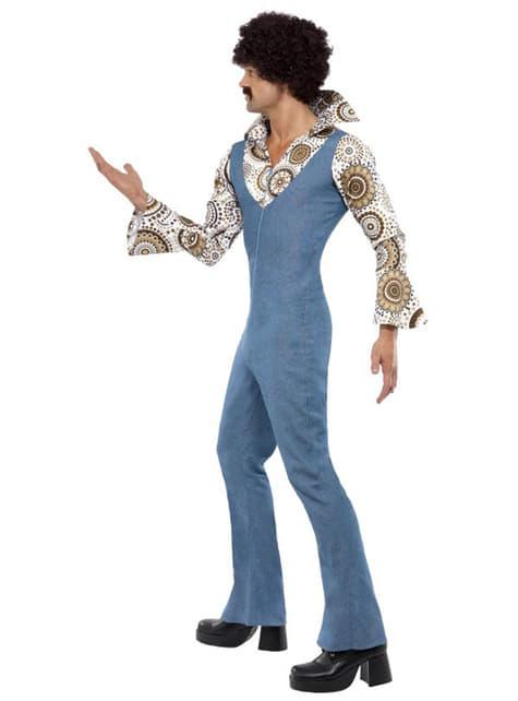 Весел костюм на диско танцьор за възрастни