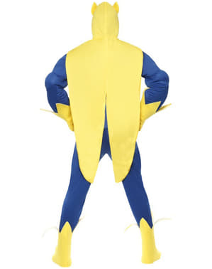 Disfraz de Bananaman deluxe para hombre
