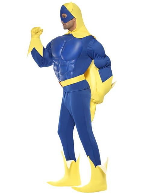 Fato de Bananaman deluxe para homem