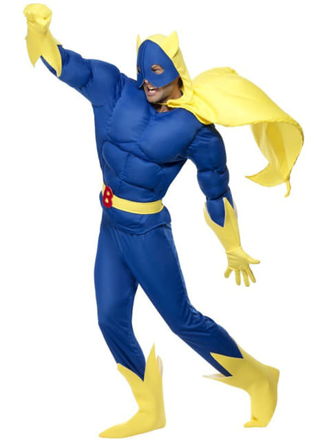 Bananaman deluxe Kostuum
