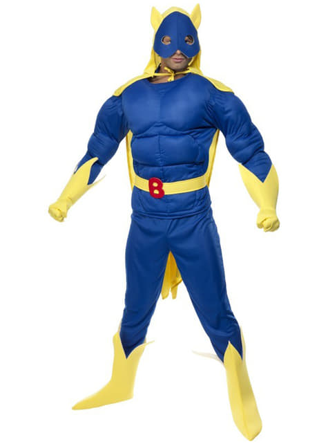 Bananaman Deluxe Maskeraddräkt