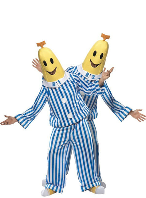 Disfraz de bananas en pijama - original