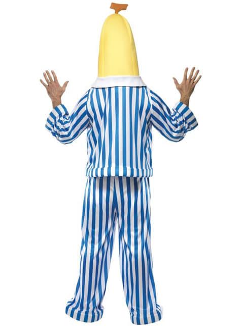 Disfraz de bananas en pijama - hombre