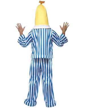 Strój banana w piżamie