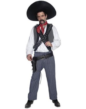 Disfraz de bandido mexicano del Oeste