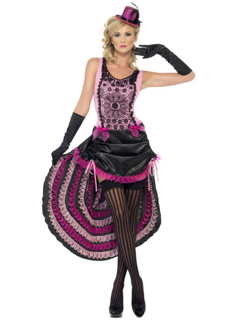 Disfraz de burlesque sexy para mujer