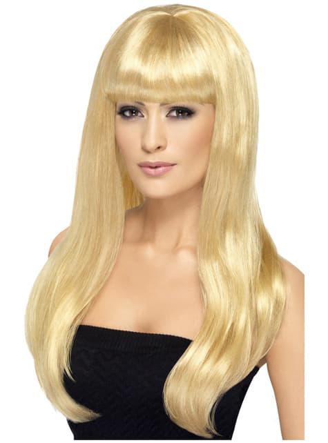 Секси блондинка перука
