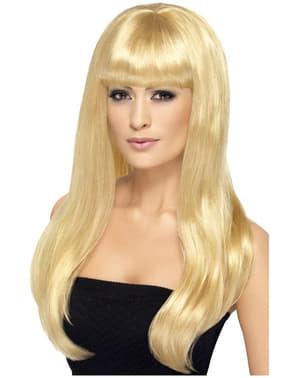Seksikäs blondiperuukki