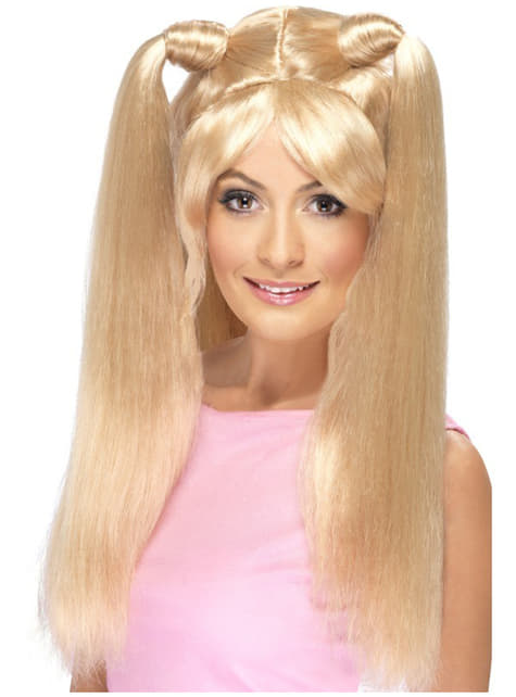 Spice Girls Wig with Ponytails