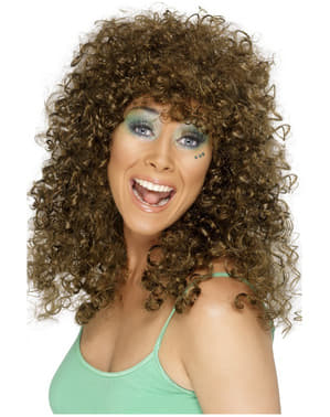 Curly Brown Wig