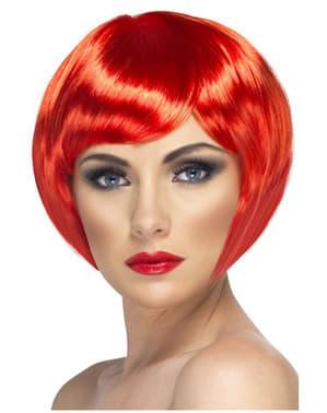 Red Bob Cut Wig