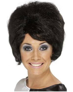 Black Sixties Style Beehive Wig
