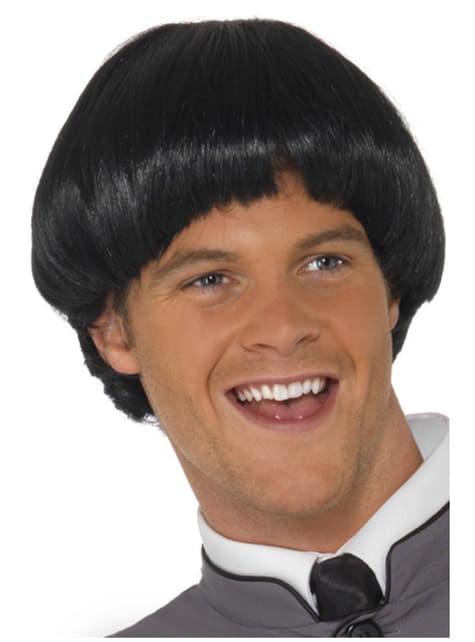 Black Bowl Cut Wig