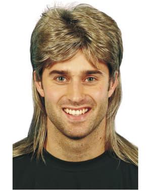 Parrucca anni 80  per uomo