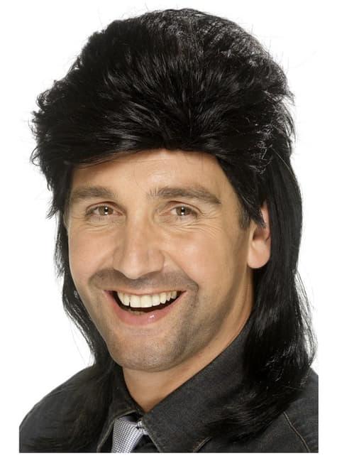 Черна перука