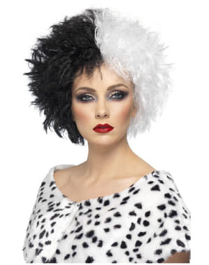 Перука Black & White Cruella